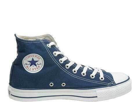 Кеды Converse All Star blue  фото в «GetKeds»