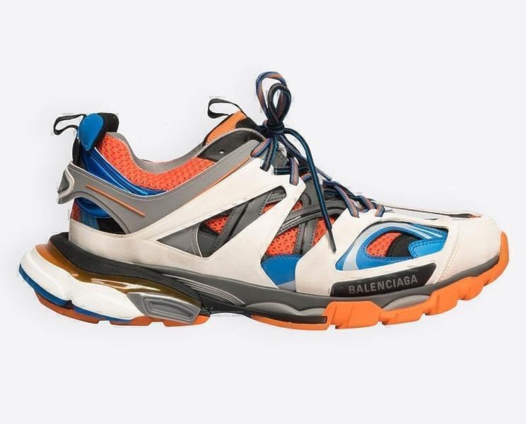 Кроссовки Balenciaga track orange фото в «GetKeds»
