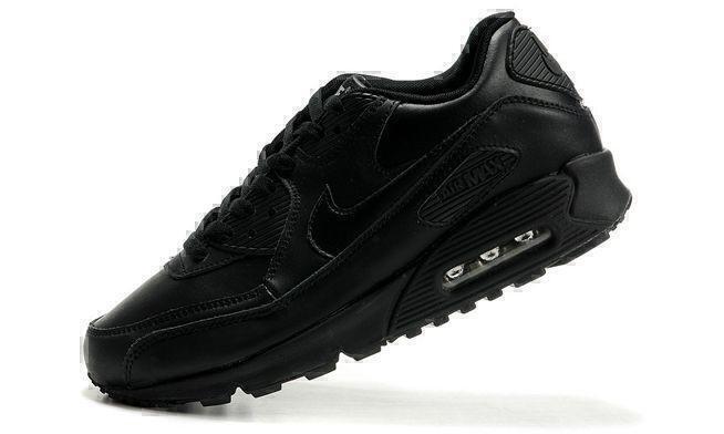 Nike Air Max 90 Leather (Black) фото #2 в «GetKeds»