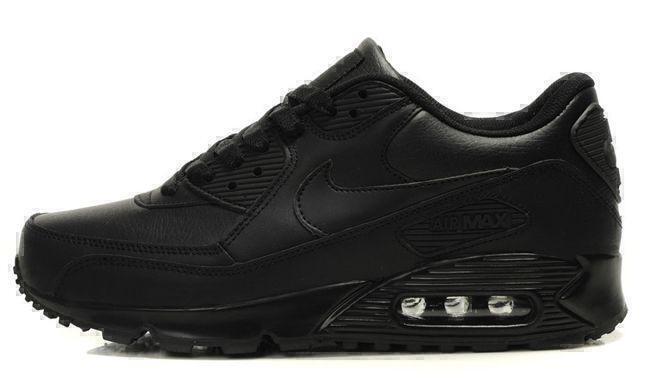 Nike Air Max 90 Leather (Black) фото #3 в «GetKeds»