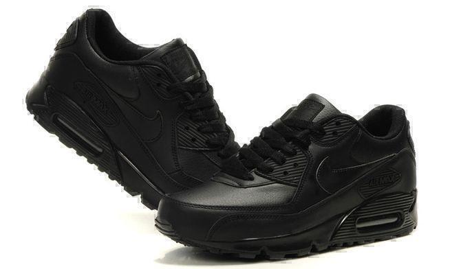Nike Air Max 90 Leather (Black) фото #4 в «GetKeds»