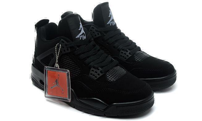 "Air Jordan 4 Retro ""Black Cat"" (Black) фото #4 в «GetKeds»"