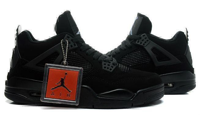 "Air Jordan 4 Retro ""Black Cat"" (Black) фото #2 в «GetKeds»"