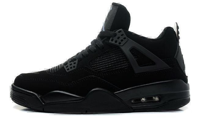 "Air Jordan 4 Retro ""Black Cat"" (Black) фото #3 в «GetKeds»"