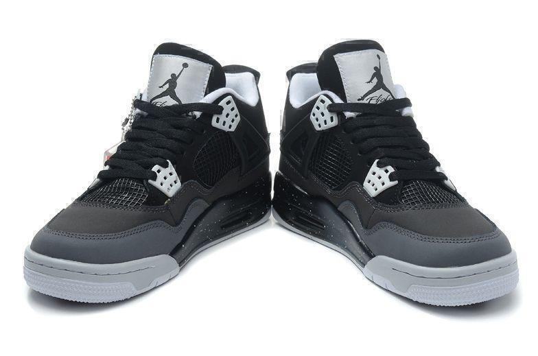 Air Jordan 4 Retro Stealth Oreo (Grey/White) фото #3 в «GetKeds»