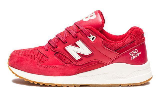 New Balance 530 (Red/White) фото #2 в «GetKeds»
