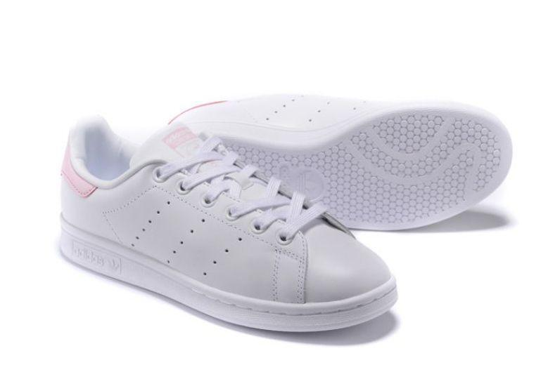 Adidas Stan Smith (White/Pink) фото #3 в «GetKeds»