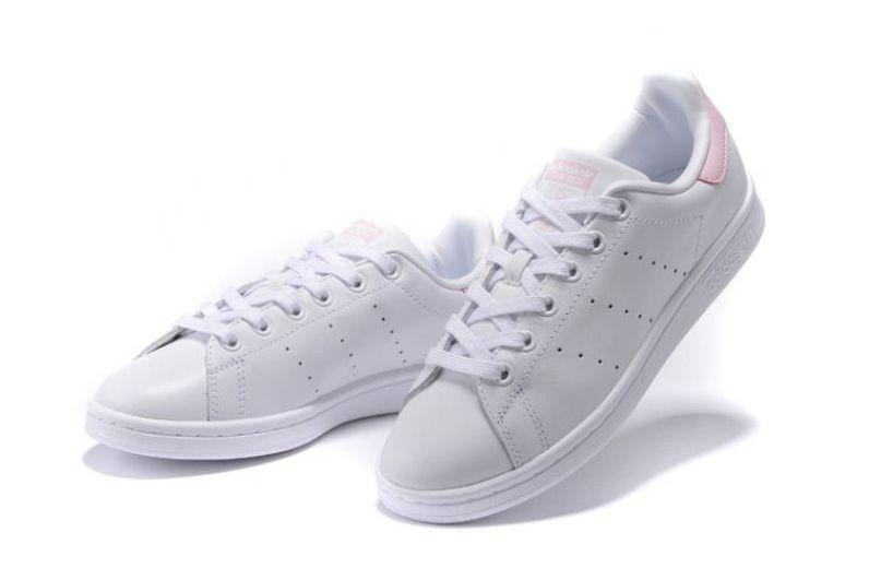 Adidas Stan Smith (White/Pink) фото #4 в «GetKeds»