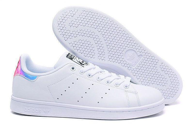 Кроссовки Adidas Stan Smith «Metallic Silver» (Hologram) фото в «GetKeds»