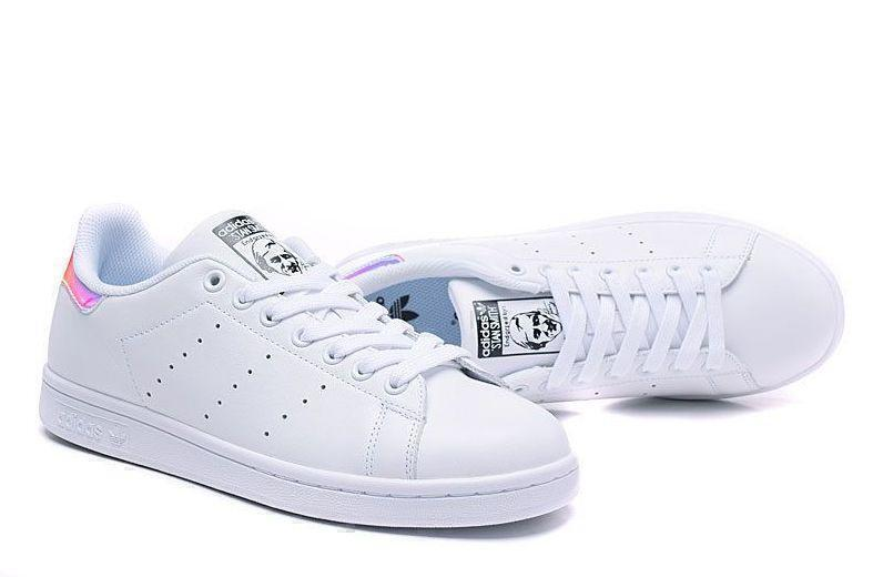 Adidas Stan Smith «Metallic Silver» (Hologram) фото #2 в «GetKeds»