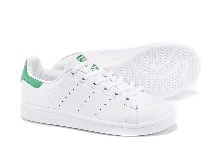 Adidas Stan Smith (White/Green) фото #3 в «GetKeds»