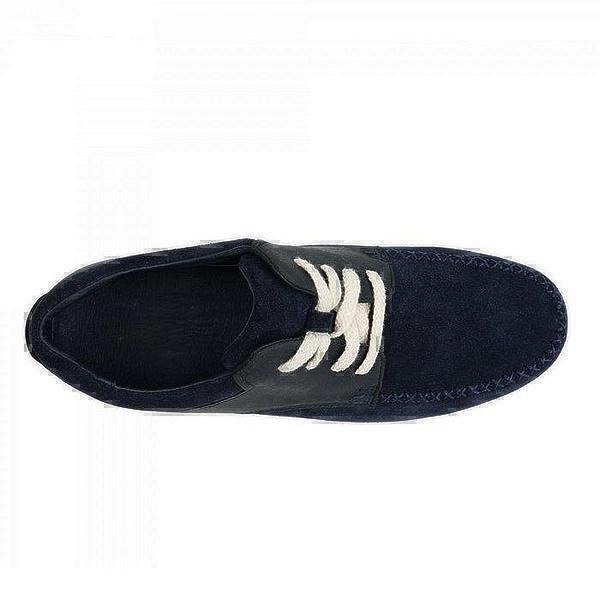 UGG Men's Ascot Catton Canvas Blue фото #5 в «GetKeds»