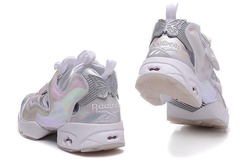 Reebok Insta Pump Fury «White Silver-Neon»-R8913GK фото #3 в «GetKeds»