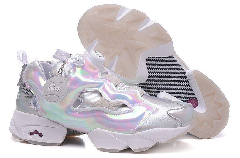 Reebok Insta Pump Fury «White Silver-Neon»-R8913GK фото #2 в «GetKeds»