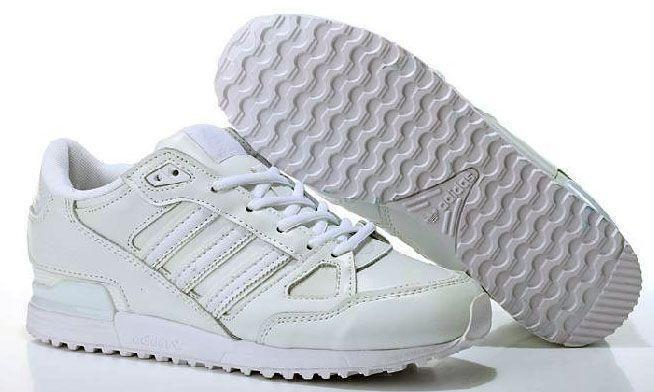 Кроссовки Adidas ZX 750 Leather (White) фото в «GetKeds»