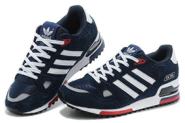 Adidas ZX 750 (Blue) фото #2 в «GetKeds»