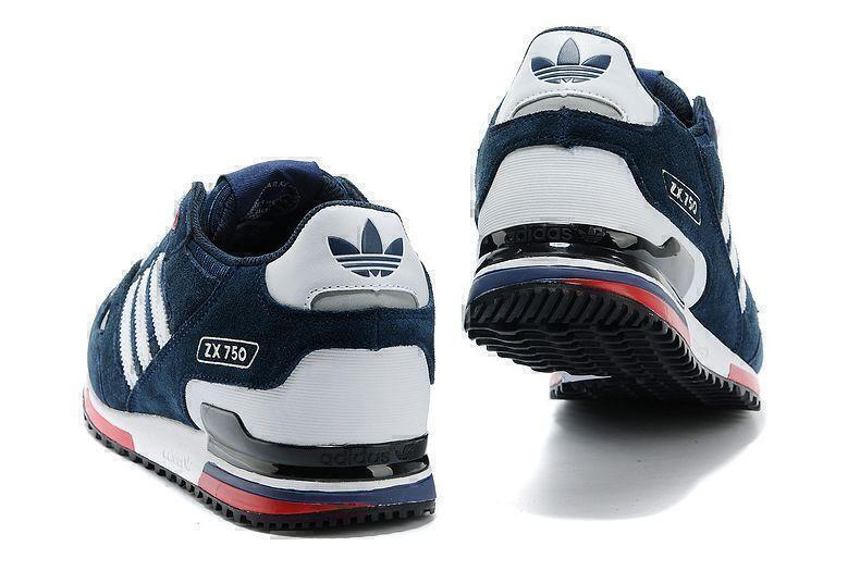 Adidas ZX 750 (Blue) фото #3 в «GetKeds»
