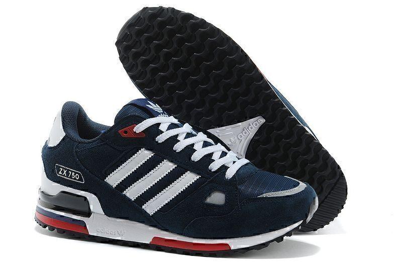Кроссовки Adidas ZX 750 (Blue) фото в «GetKeds»