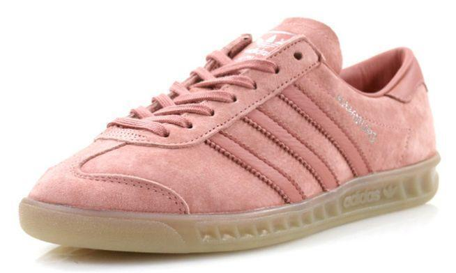 Кроссовки Adidas Hamburg (Pink) фото в «GetKeds»