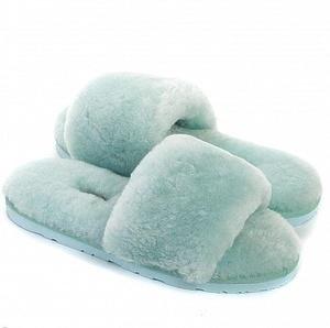 Угги UGG Fluff Slide Slippers Lake Blue