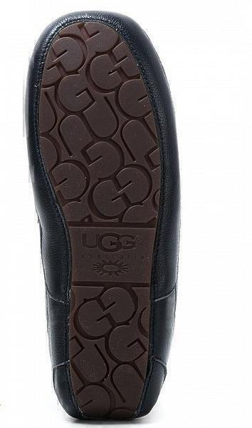 UGG Men's Ascot Leather Navy фото #5 в «GetKeds»