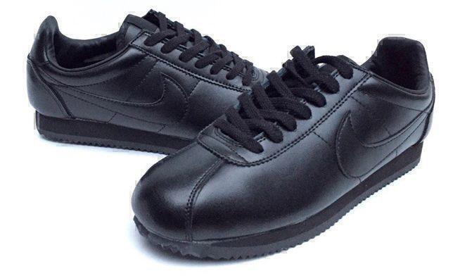 Кроссовки Nike Cortez (Black) фото в «GetKeds»
