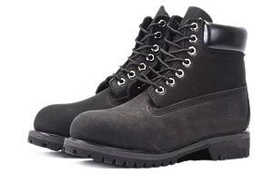 Ботинки Timberland Classic (Black Nubuck)-RT3313GK