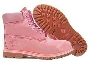 Ботинки Timberland Classic (Pink Nubuck)-RT1013GK