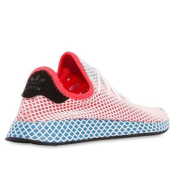 Adidas Deerupt Runner J (Sol Red/Blue Bir) фото #2 в «GetKeds»