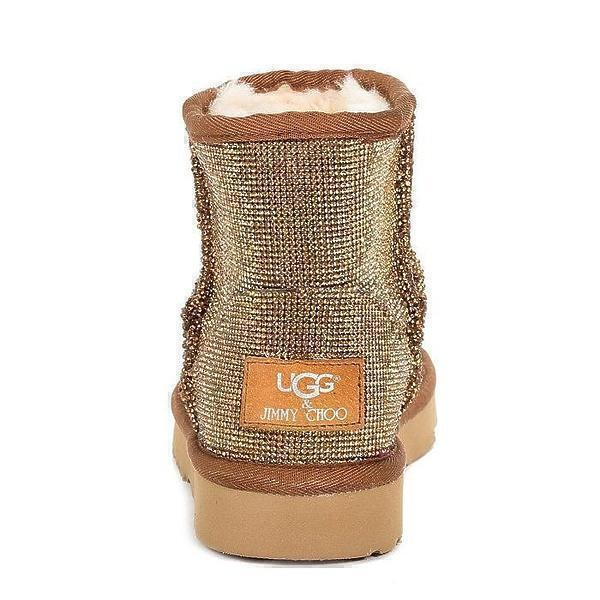UGG & Jimmy Choo Mini Serein II Gold фото #3 в «GetKeds»