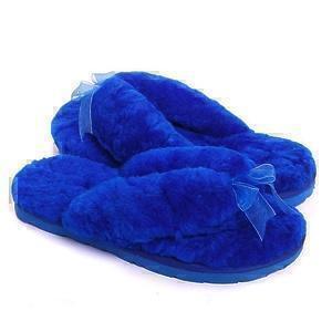 Угги UGG Fluff Flip Flop II Electric Blue