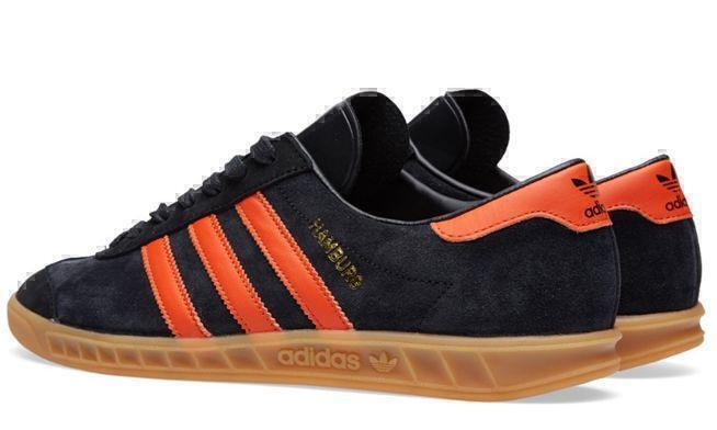 Adidas Hamburg (Black/Orange) фото #2 в «GetKeds»