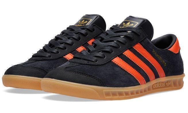 Adidas Hamburg (Black/Orange) фото #3 в «GetKeds»