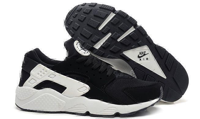 Кроссовки Nike Air Huarache (white/black) фото в «GetKeds»