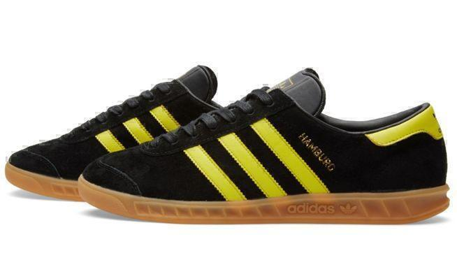 Adidas Hamburg (Black/Yellow) фото #2 в «GetKeds»