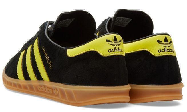 Adidas Hamburg (Black/Yellow) фото #3 в «GetKeds»