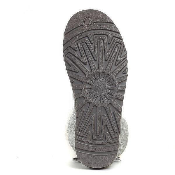 UGG Mini Bailey Bow Sparkle Boot Grey фото #5 в «GetKeds»