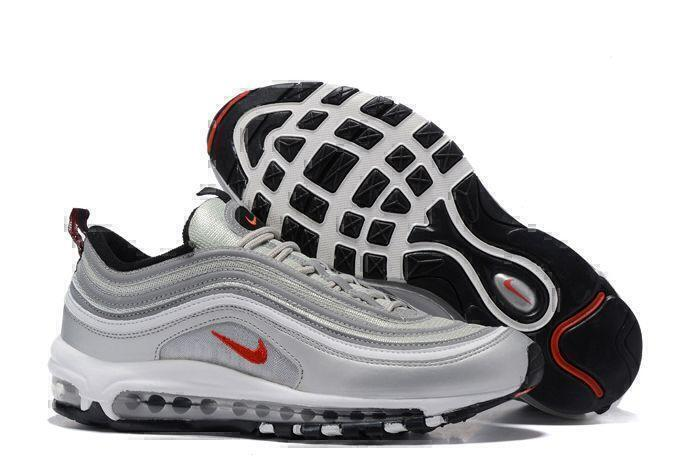 Кроссовки Nike Air Max 97 (Metallic Silver) фото в «GetKeds»