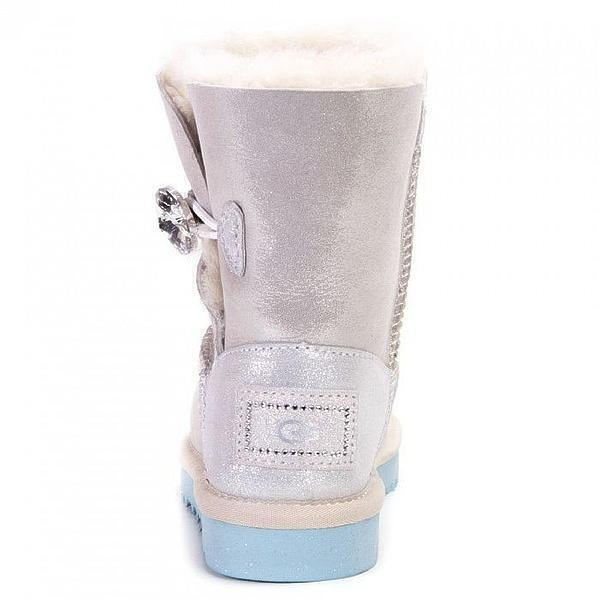 UGG Kids Bailey Button I Do White фото #4 в «GetKeds»