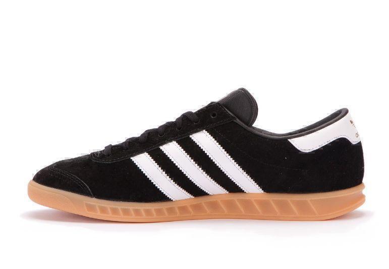 Adidas Hamburg (Black/White) фото #2 в «GetKeds»