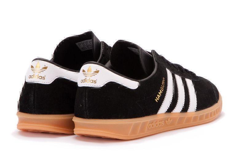 Adidas Hamburg (Black/White) фото #4 в «GetKeds»