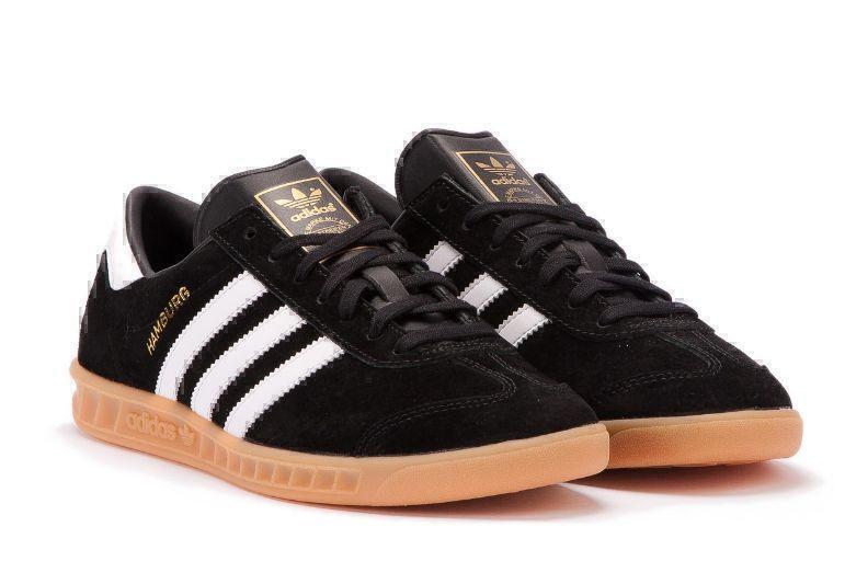 Adidas Hamburg (Black/White) фото #3 в «GetKeds»