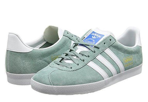 Кроссовки Adidas Gazelle Womens (Mint) фото в «GetKeds»