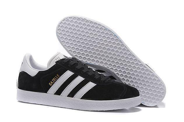 Кроссовки Adidas Gazelle (Black/White) фото в «GetKeds»