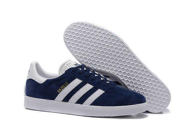 Кроссовки Adidas Gazelle (Dark Blue) фото в «GetKeds»