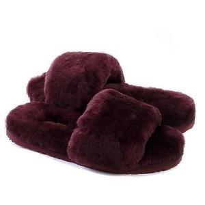 Угги UGG Fluff Slide Slippers Dark Purple