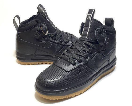 Nike Lunar Force 1 Duckboot (Black) фото #4 в «GetKeds»