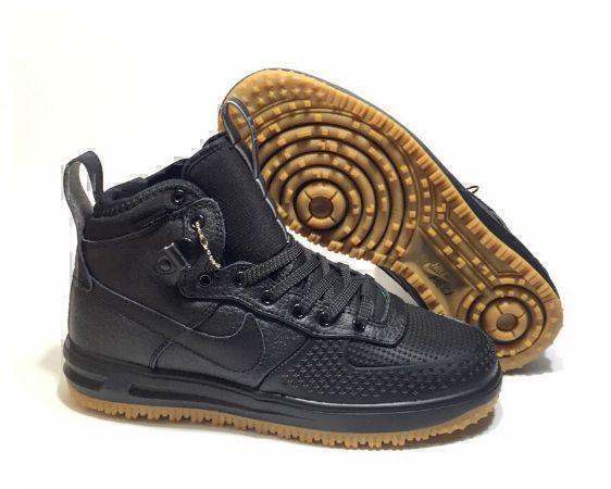 Nike Lunar Force 1 Duckboot (Black) фото #2 в «GetKeds»