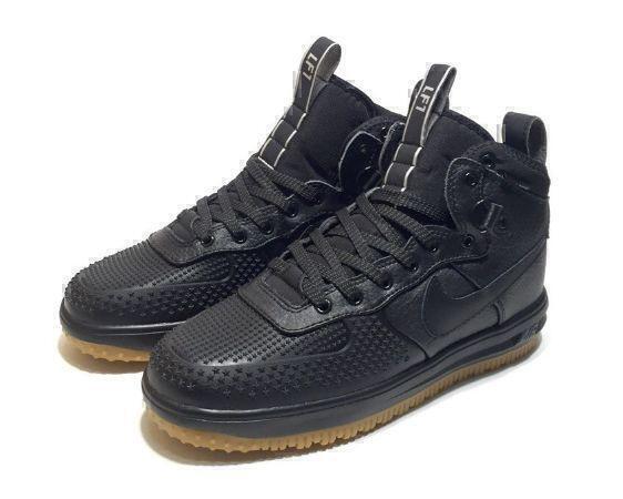 Nike Lunar Force 1 Duckboot (Black) фото #3 в «GetKeds»