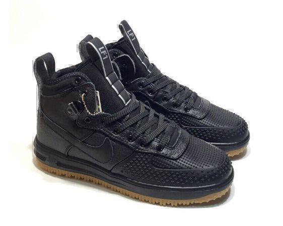 Кроссовки Nike Lunar Force 1 Duckboot (Black) фото в «GetKeds»